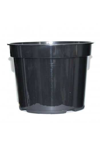 Maceta 23X18Cm 5L Negra Inyectada 5 unidades