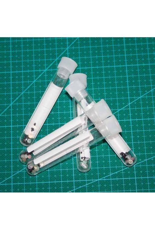 Tubos ensayo  5 unidades con tapón